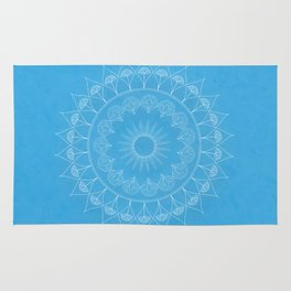 Mandala Winter Kukka Rug