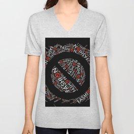 fashion traffic Unisex V-Neck