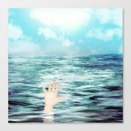 It's Sunny But I'm Still Drowning Canvas Print