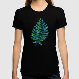 Fern Leaf – Blue & Green Palette T-shirt