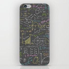 Math Lessons iPhone Skin