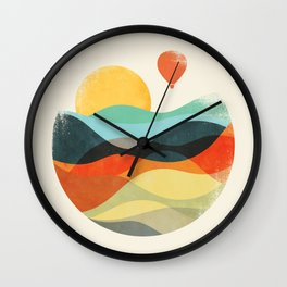 Let the world be your guide Wall Clock