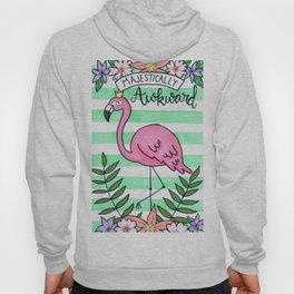 Awkward Flamingo Hoody