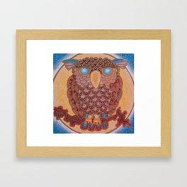 Night Owlie Framed Art Print