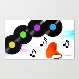 POWER OF THE MUSIC Canvas Print