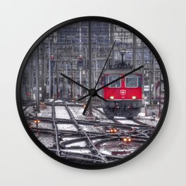 Electric Suisse Wall Clock