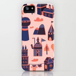 A Little Town iPhone Case