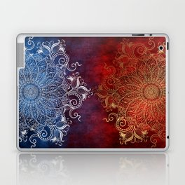 Mandala - Fire & Ice Laptop & iPad Skin