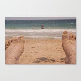 POV of Condado Beach, Puerto Rico Canvas Print