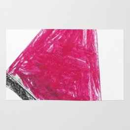 Triangle Wax Color Rug