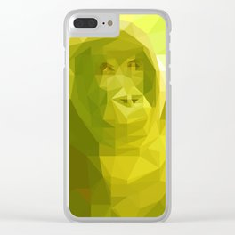 """Fragments """"Gorilla"""" Clear iPhone Case"""