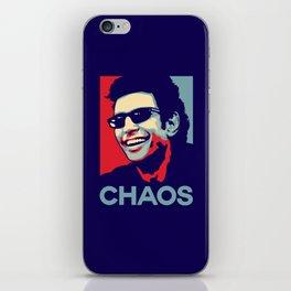 'Chaos' Ian Malcolm (Jurassic Park) iPhone Skin