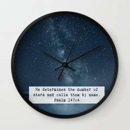 Counts the Stars Wall Clock