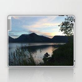 Tetons at Dawn Laptop & iPad Skin