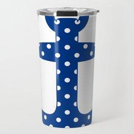 Levando Anclas Azul Travel Mug