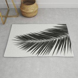Palm Leaf Black & White I Rug