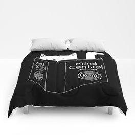 Mind Control 4 Cats Comforters