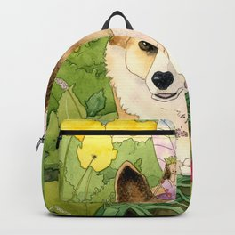 The Faerie and the Welsh Corgi Backpack