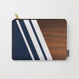 Wooden Navy Tasche