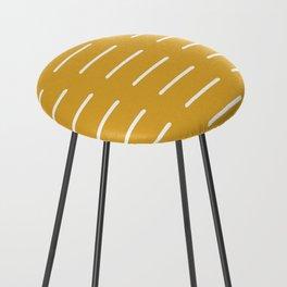 organic / yellow Counter Stool