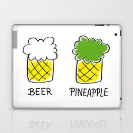 beer and pineapple Laptop & iPad Skin