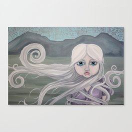 Lady of the Mountain Canvas Print