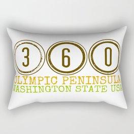 360 Olympic Peninsula Rectangular Pillow