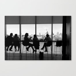 VIEW FROM THE TATE MODERN LONDON UK Canvas Print