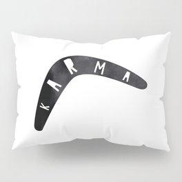 Karma / poster, boomerang, art print, pictures, scandinavian, nursery, deco, family, saying, christm Pillow Sham
