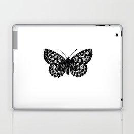 Minimalista borboleta 3 Laptop & iPad Skin