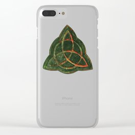 Book of Shadows Clear iPhone Case