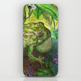 Rain Forest Toad iPhone Skin