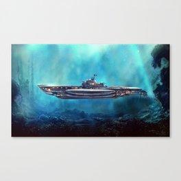 Pirate Submarine Canvas Print