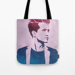 Brendon Urie Gradient Print Tote Bag