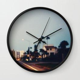 Stop & Glow Wall Clock