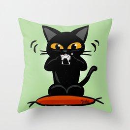 Rice ball Throw Pillow