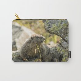 Marmot on Naches Peak Carry-All Pouch