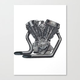 74 or More Canvas Print