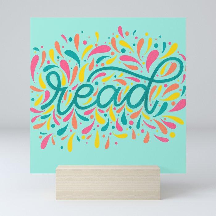 Reading is Beautiful Mini Art Print
