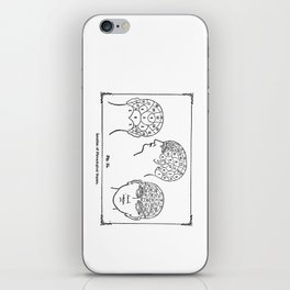Phrenology iPhone Skin