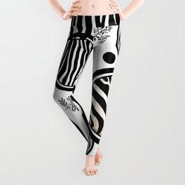 Zebra Circles Leggings