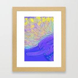 Shooting Stars Framed Art Print