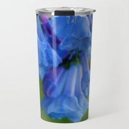 Pop of Blue Travel Mug