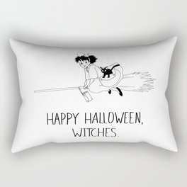 Happy Halloween, Witches! Rectangular Pillow