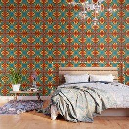 Thistle Pattern Wallpaper