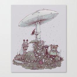 Rain of Spores Canvas Print