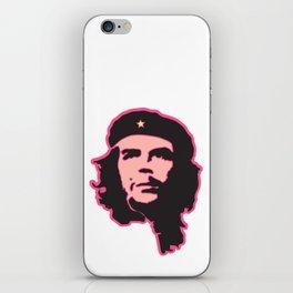 Che Guevara portrait fun iPhone Skin