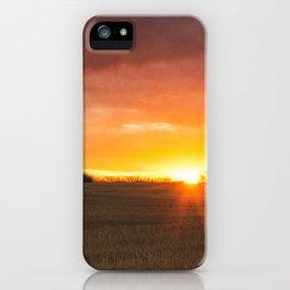 Alberta Sunset iPhone Case