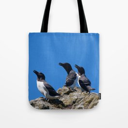 Ninjas in feathers Tote Bag
