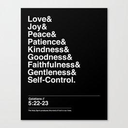GALATIANS 5:22-23 Canvas Print